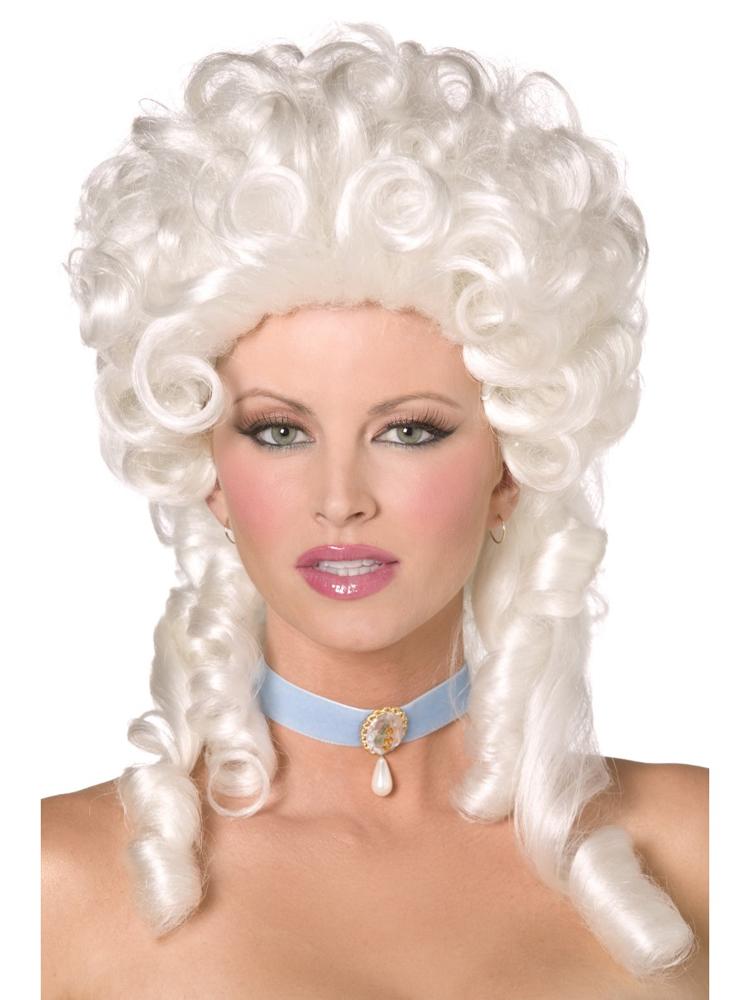 Baroque Wig,White