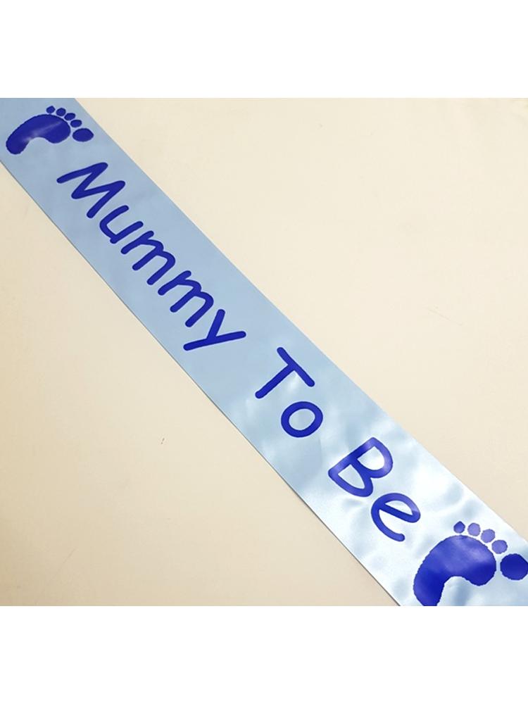 Mummy To Be Sash - Blue