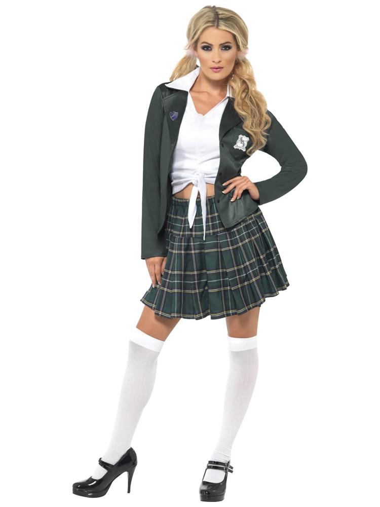 Preppy Schoolgirl Costume (12345)