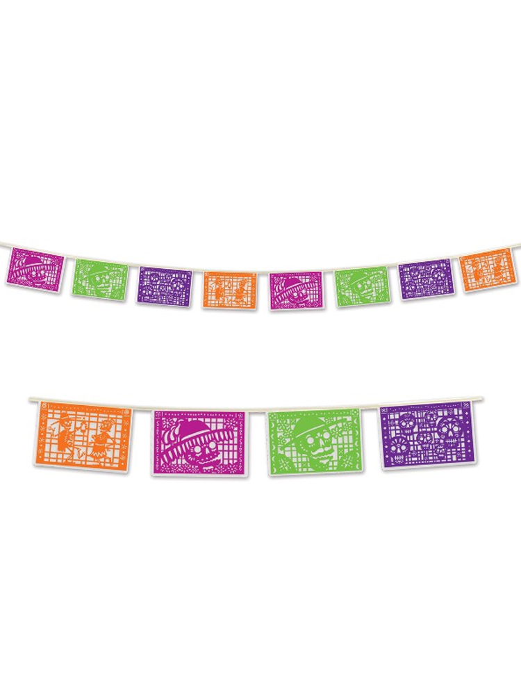 Day of the Dead Picado Style Bunting