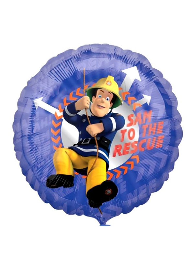 Fireman Sam Foil Balloon