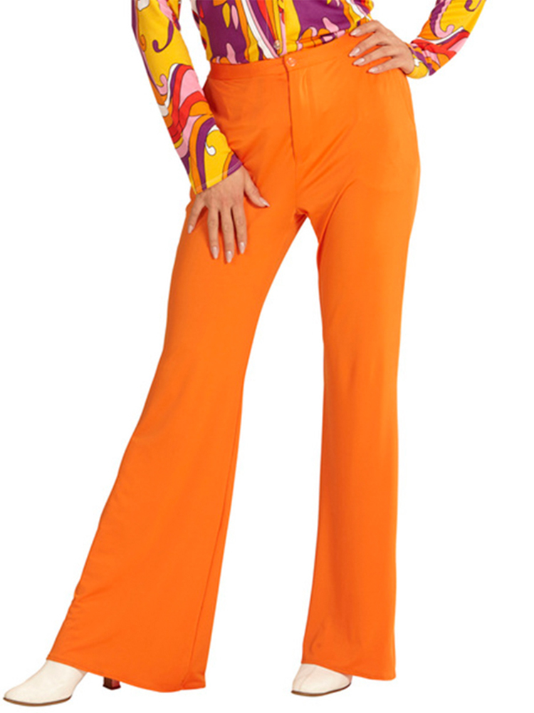 GROOVY 70'S LADY PANTS - ORANGE