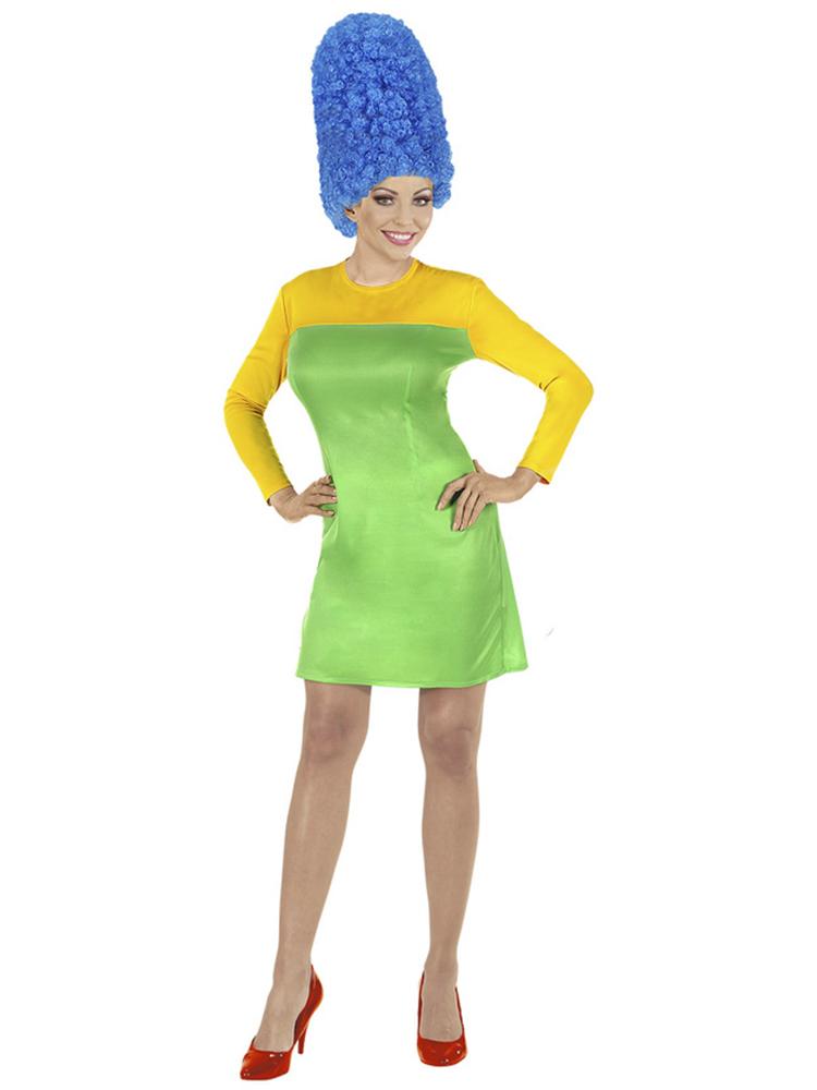 Mrs Cartoon (Dress, Wig)