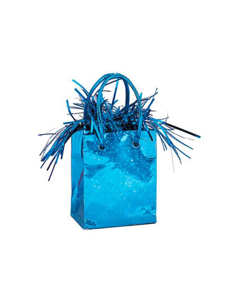 Balloon Weight Mini Handbag Blue