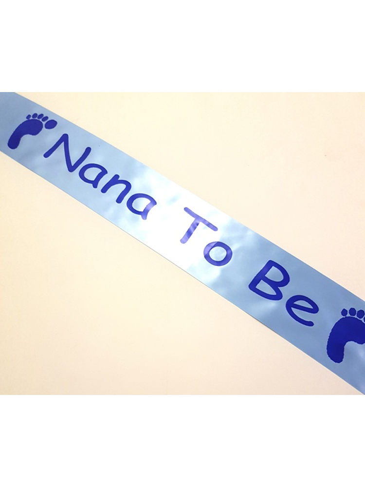 Nana To Be Sash - Blue