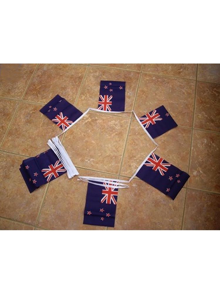 6m 20 Flag New Zealand Bunting
