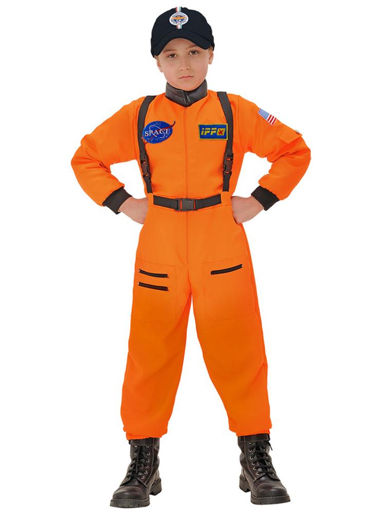 Orange Astronaut (Jumpsuit) Childrens