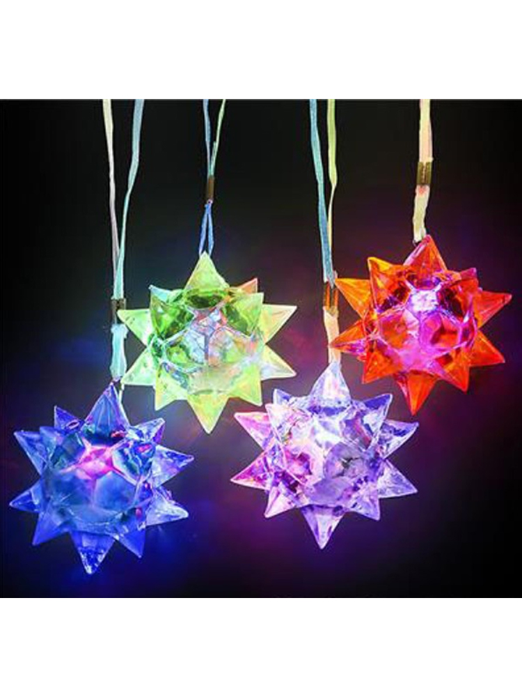 Flashing Jelly Starball Necklace from 90p