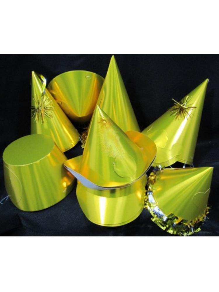 Gold Foilboard Hats - 20