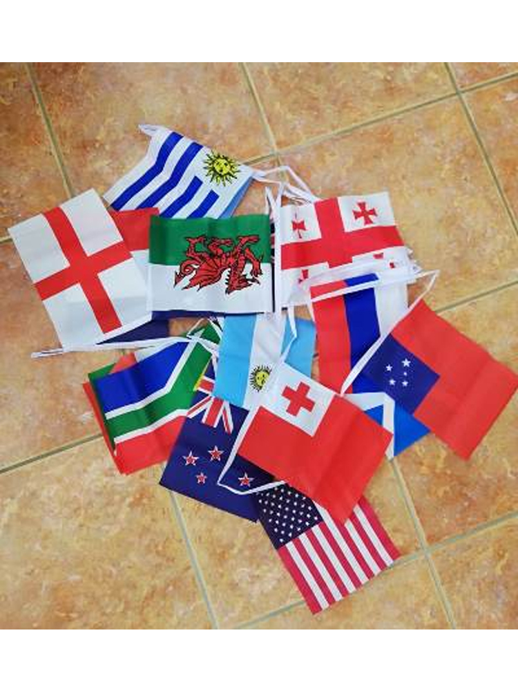 6m 20 flag Rugby World Cup 2019 bunting