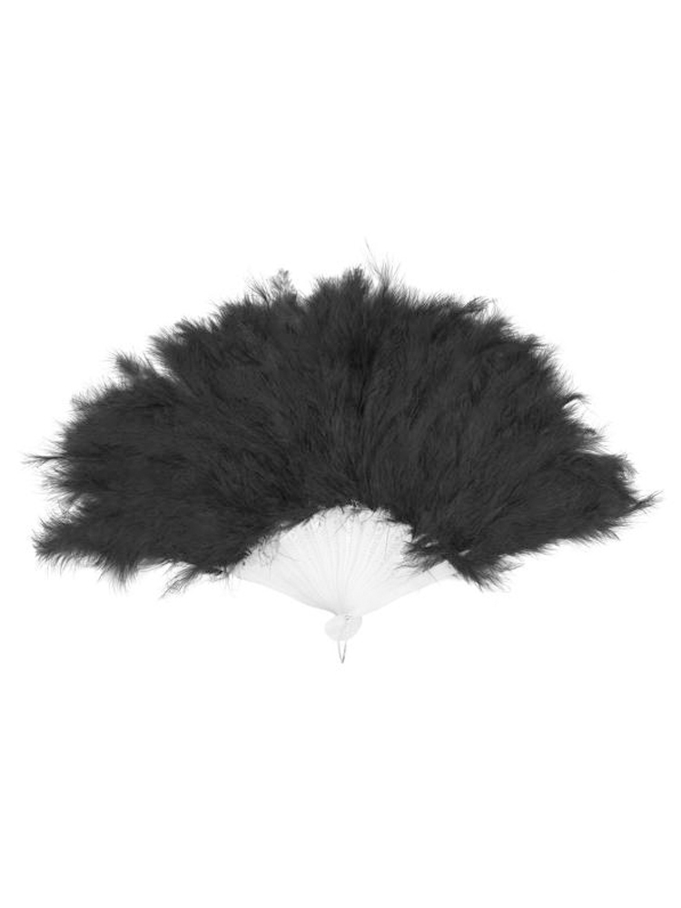 Feathered Fan - Black