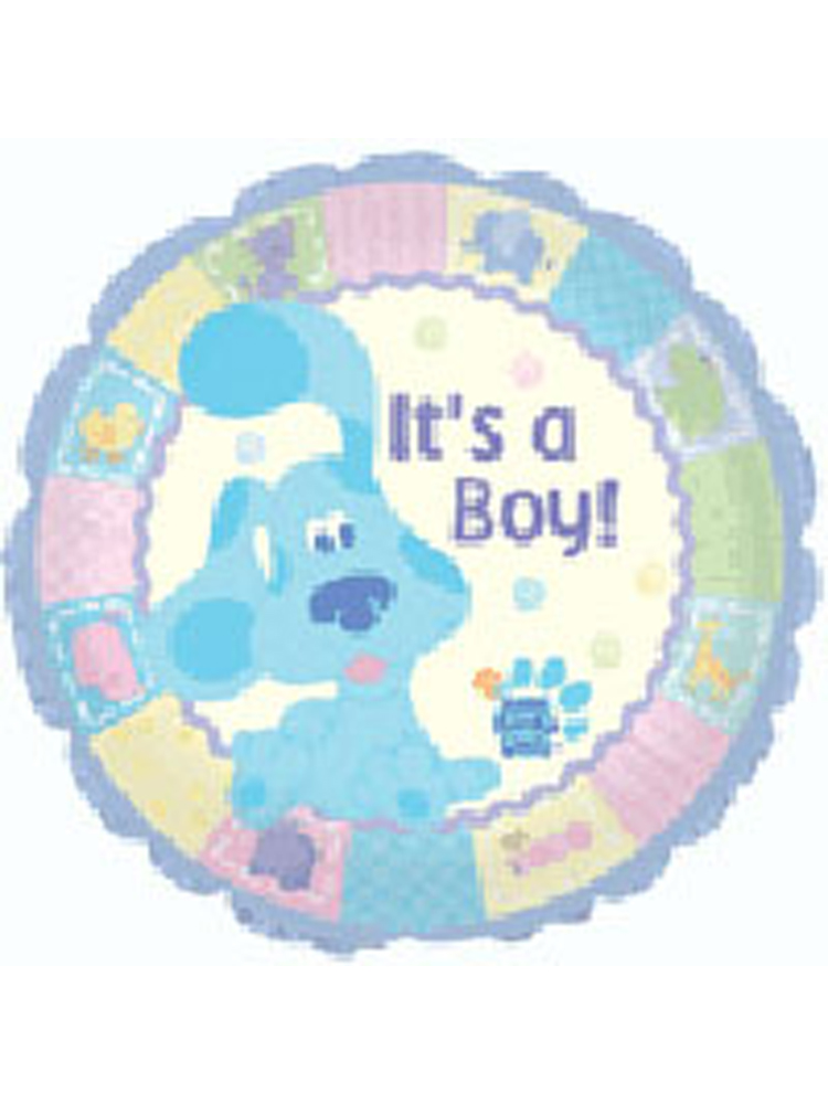 """Foil Balloon 'IT'S A BOY' Rounded 18"""""""
