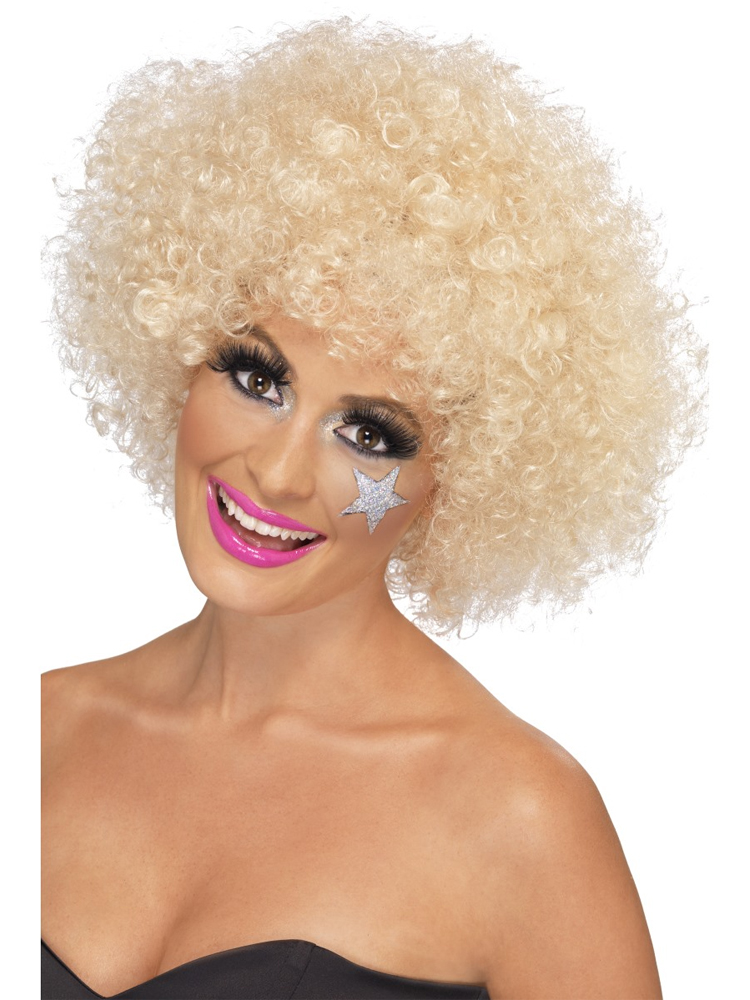 70'S Funky Afro Wig,Blonde