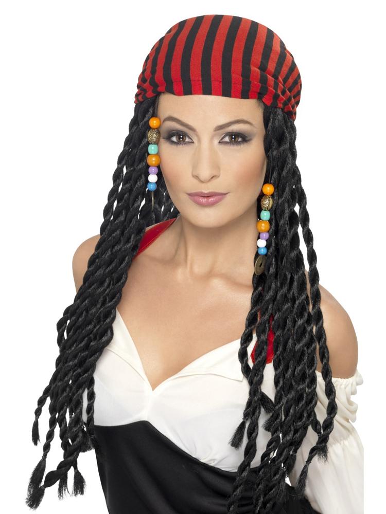 Pirate Wig,Black