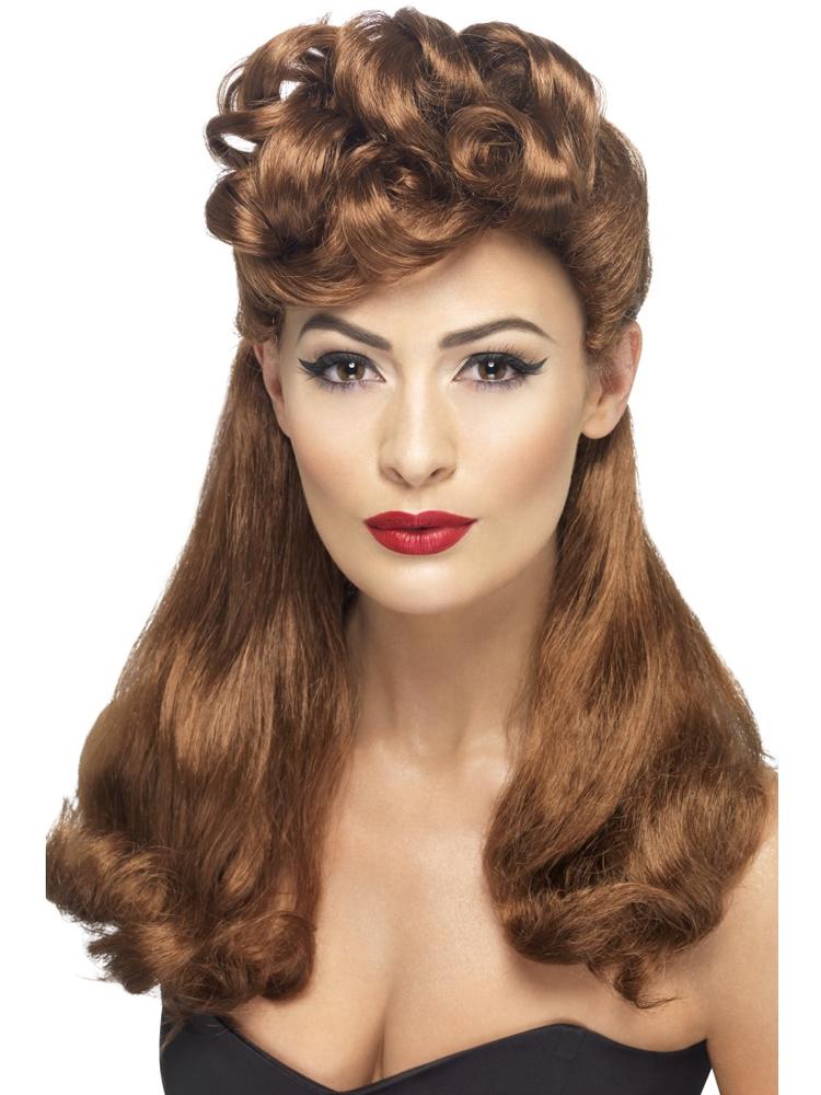 40'S Vintage Wig, Auburn