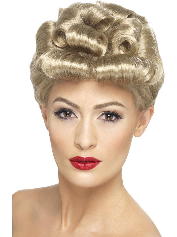40'S Vintage Wig, Blonde