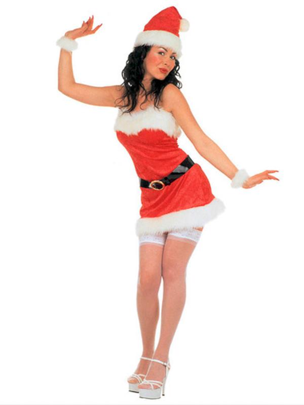Miss Santa Velvet Costume