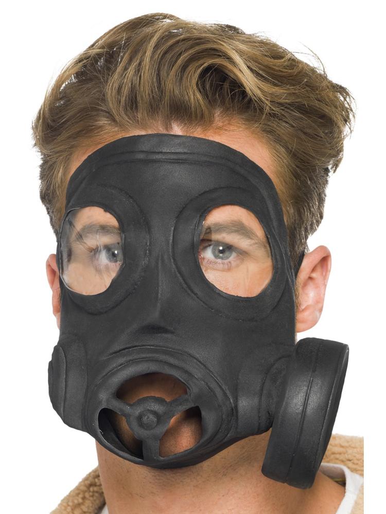 Gas Mask, Black