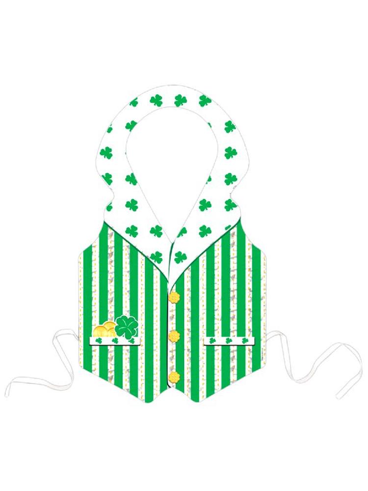 Plastic Prismatic Irish Vest