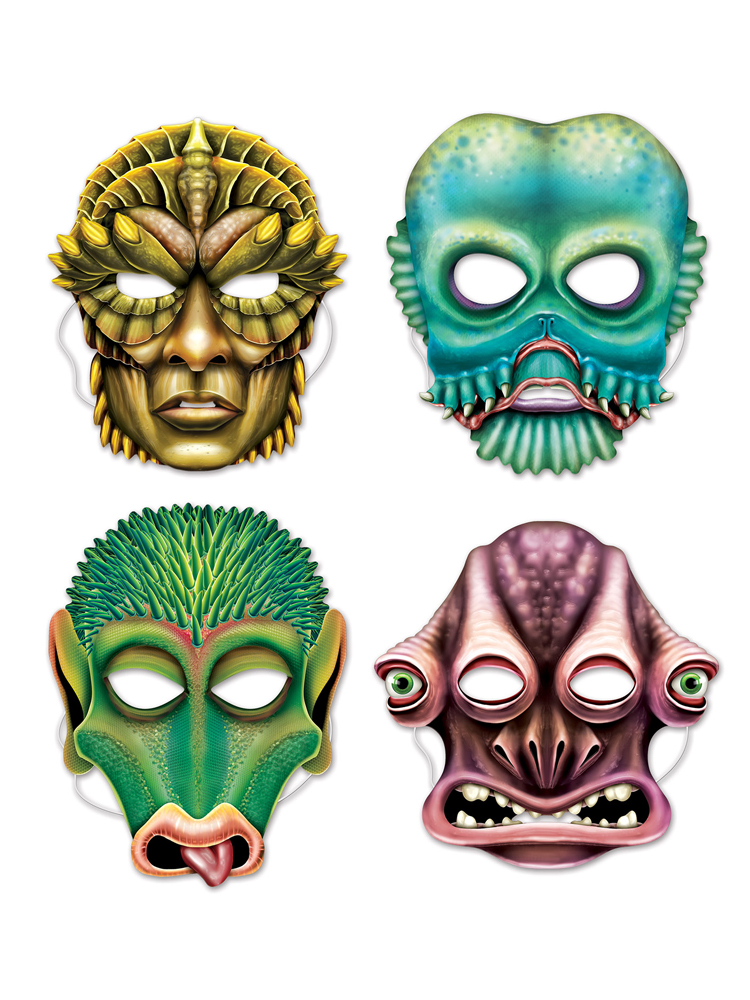 Alien Masks