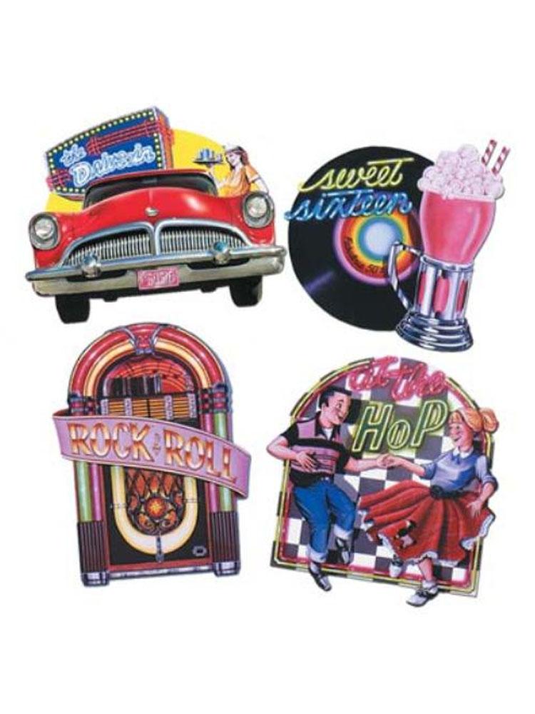 Fabulous 50's Cutouts - 4