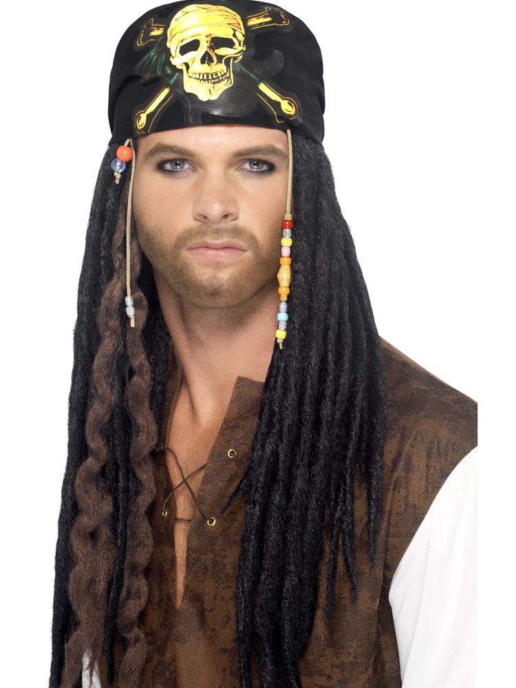 Pirate Dreadlocks Wig,Black