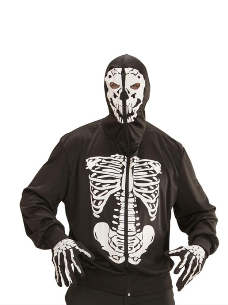 Skeleton Hoodie 1234
