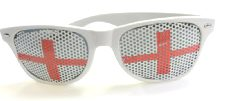 St George Flag Wayfarer Glasses