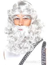 Zeus Wig, Beard and Eyebrows