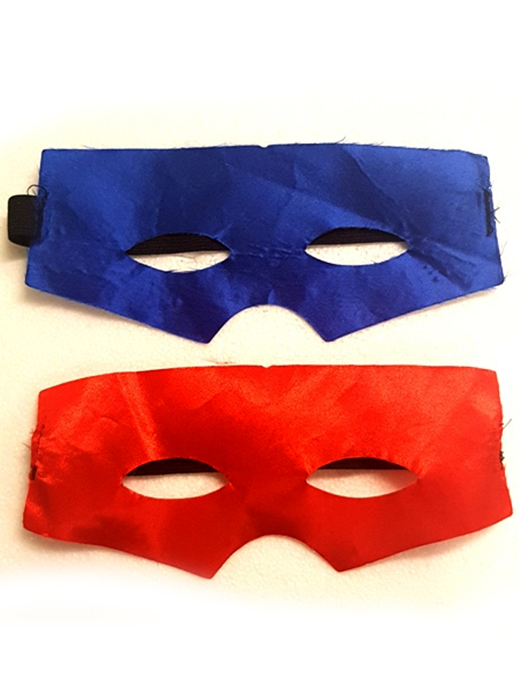 Super Hero Satin Mask