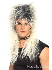 Hard Rocker Wig - Two Tone Blonde
