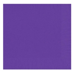 Purple Napkins - 20