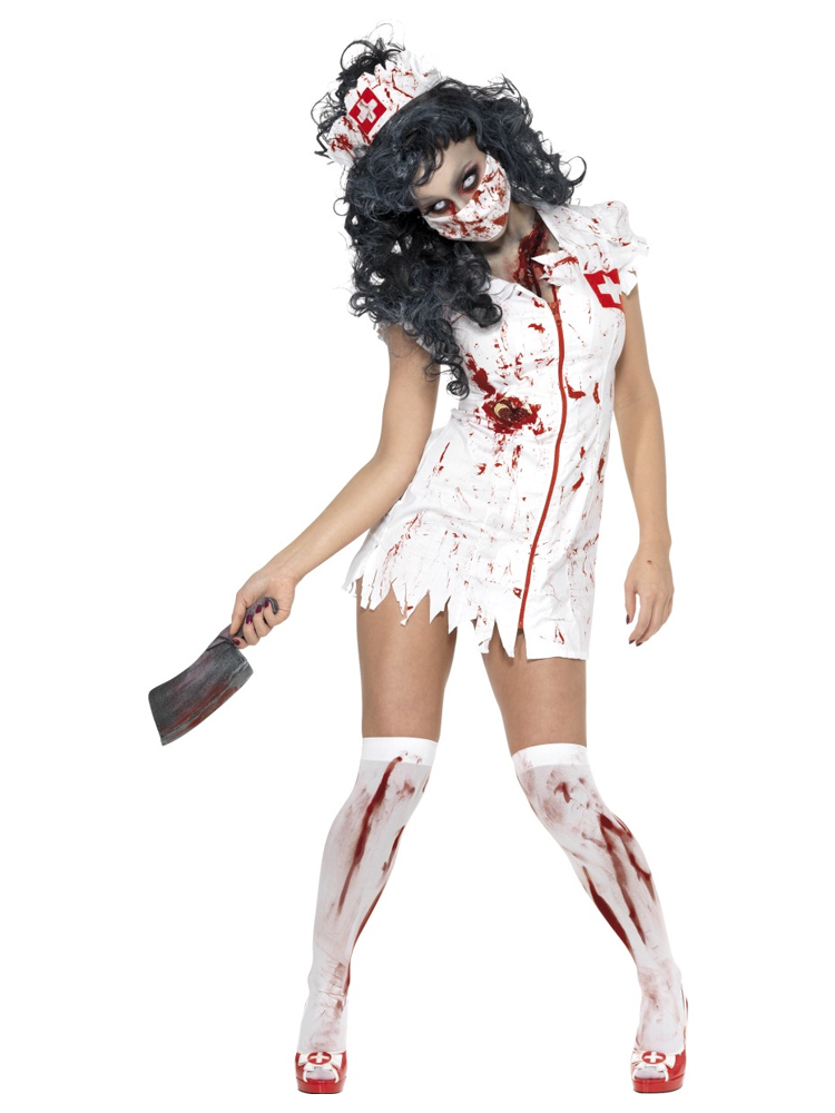 Zombie Nurse Costume (12345)