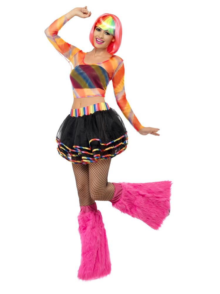 Rainbow Raver Kit ,Multicoloured