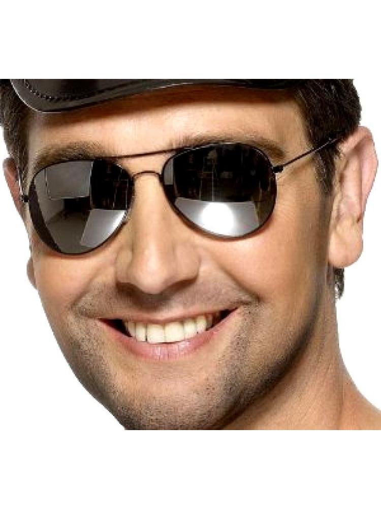 Aviator Sunglasses - Silver Frame
