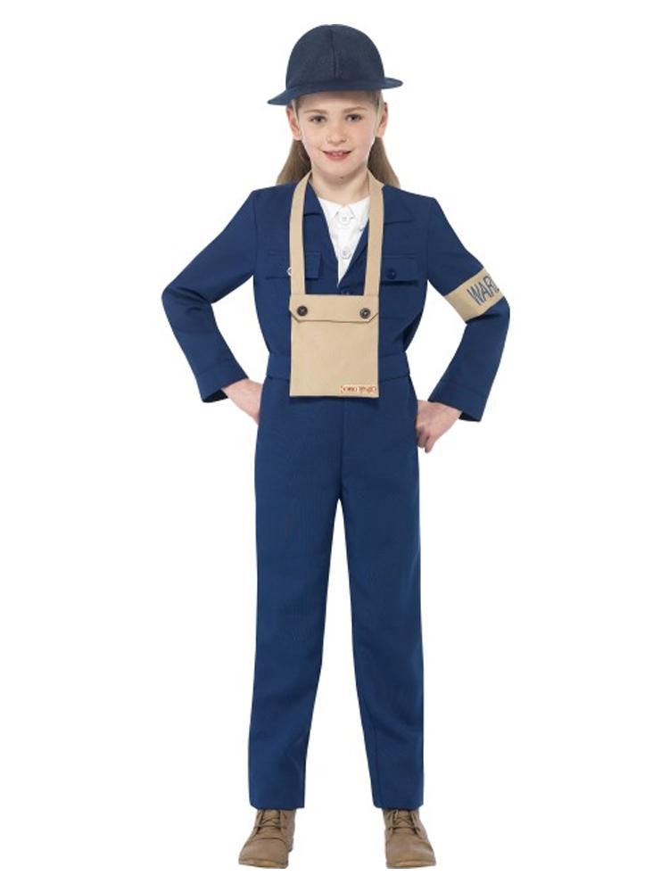 Horrible Histories Air Warden Costume
