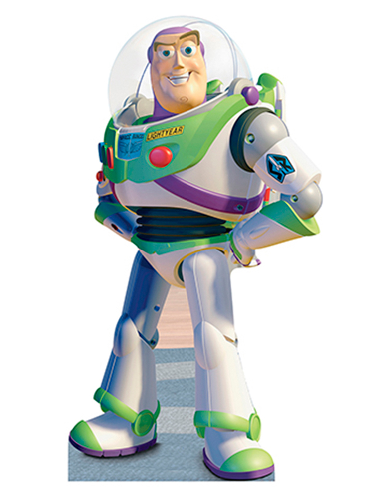 Buzz Lightyears - Toy Story Cardboard