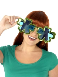 Jumbo Shamrock Glasses