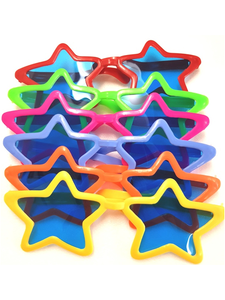 Giant Star Glasses -Assorted Colours