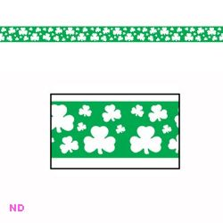 Shamrock Party Tape, 20ft (6m)