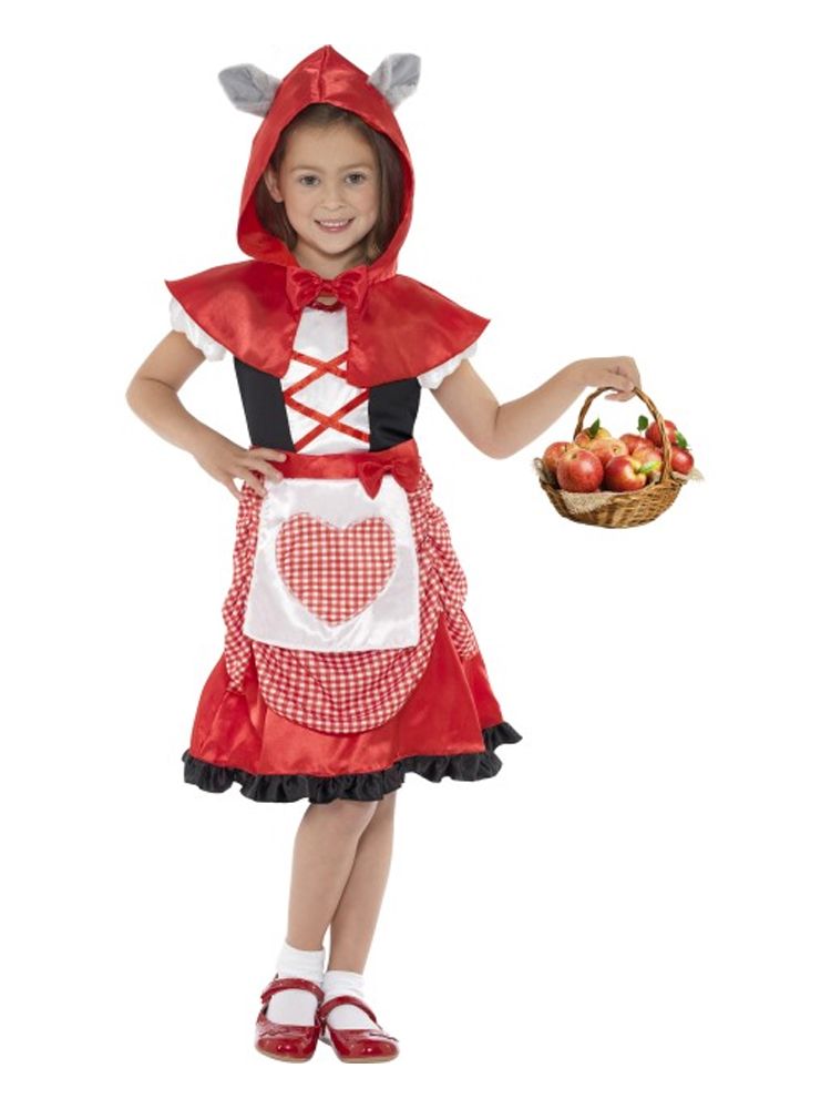 Miss Hood Costume, Red, with Dress