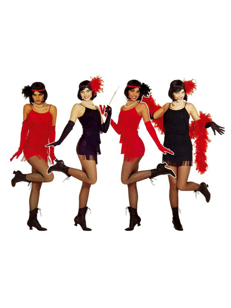 Flapper Dress - (Dress, Headband)