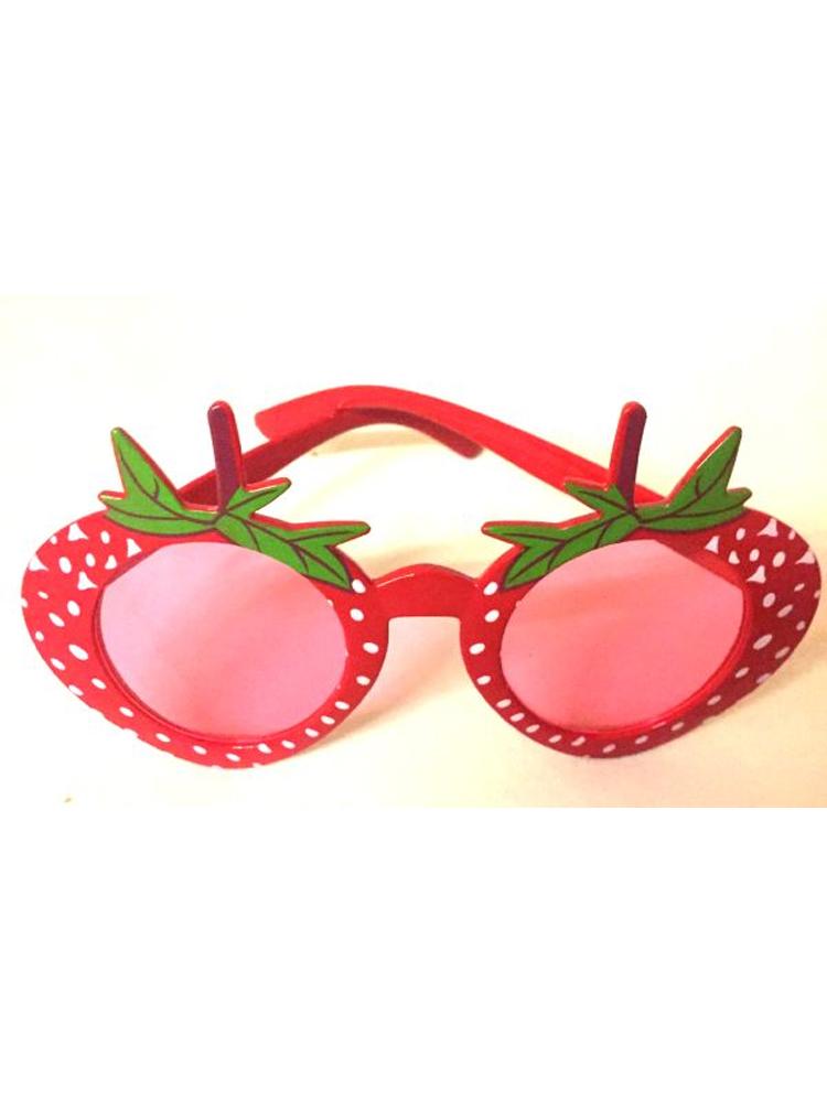 Strawberry Design Glasses