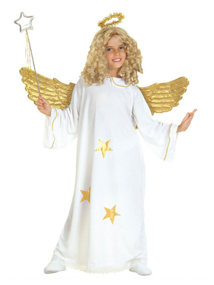 Star Angel Costume (Dress Halo) Childrens