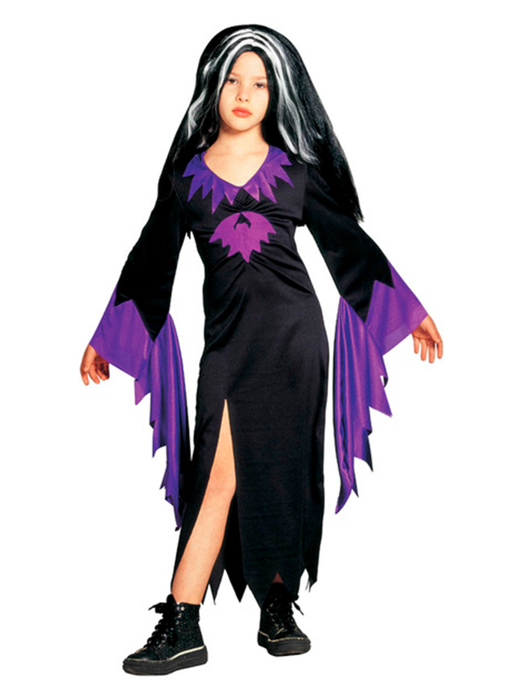 Mortisia Black and Purple Costume
