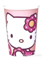 Hello Kitty Bamboo Party Cups ** 1 only in stock **