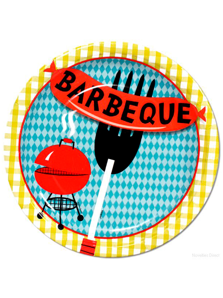Barbeque Cookout Plates