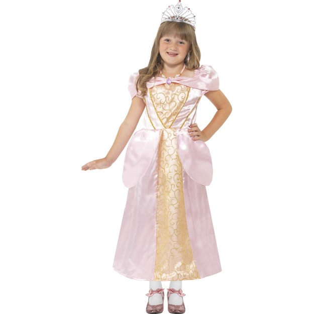 Sleeping Princess Costume, Pink, with Dress