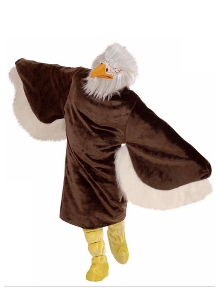 Plush Eagle Costume (Costume Boot Covers Mask)