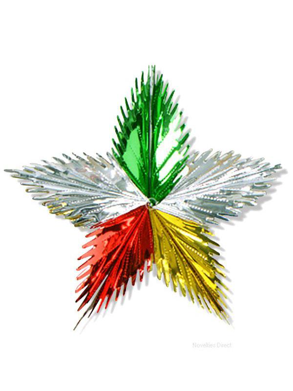 Leaf Starburst Decoration